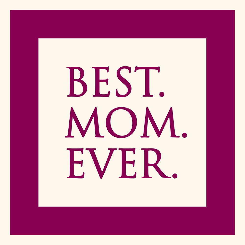 Best Mom Ever Hang Tag