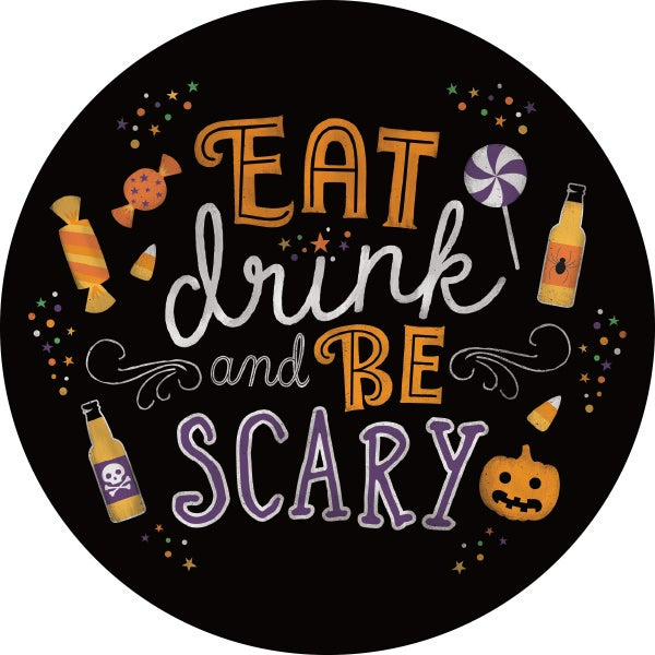 Hang Tag - Eat, Drink & Be Scary