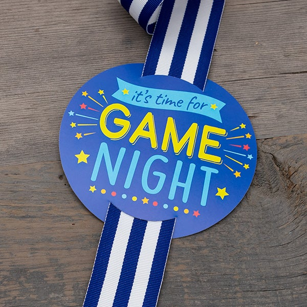 Hang Tag - It's Time for Game Night!