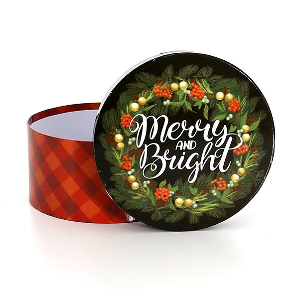 Single Box - Merry and Bright - 700g Paperweight