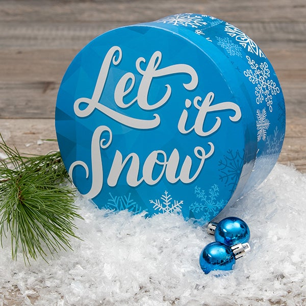 Single Box - Let it Snow - 700g Paperweight
