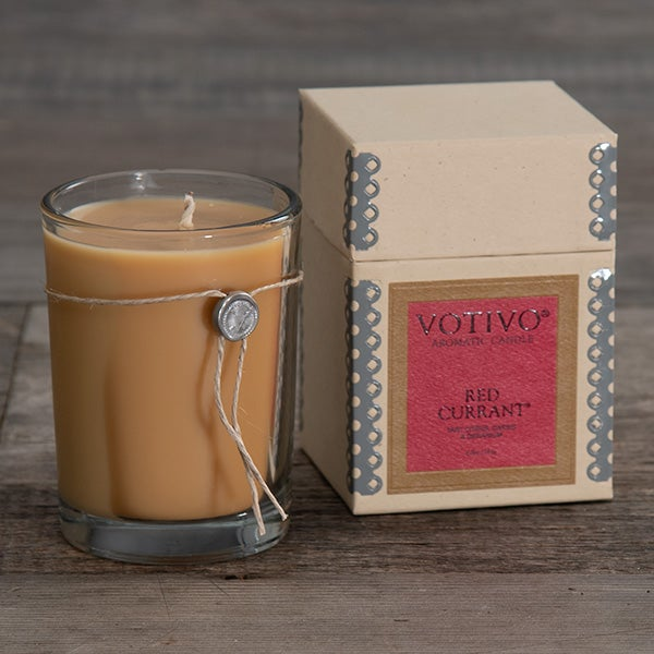 Red Currant Aromatic Candle by Votivo - 6.8 oz -