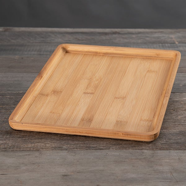 Rectangle Bamboo Platter - 11 x 13 -