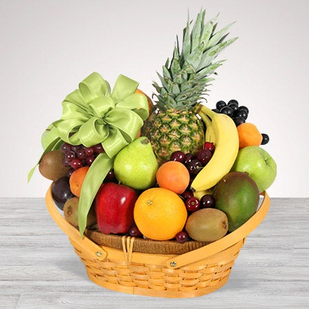 All Fruit Basket - Same Day Delivery - Deluxe