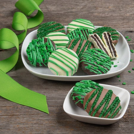 St patricks day oreo cookies