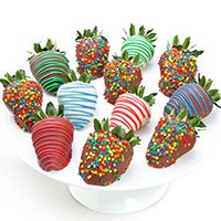 Happy Birthday Chocolate Covered Strawberries 9327