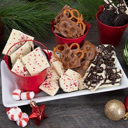 Belgian Chocolate Holiday Bark Collection 9283