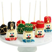 Nutcracker Cake Pops 9285