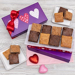 Valentine's Day Brownie Gift Box 8981