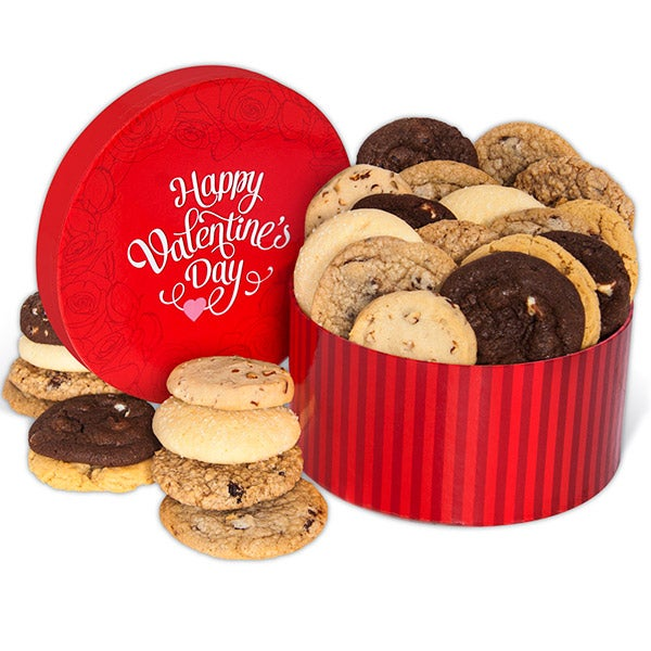 Valentine's Day Cookie Gift Box by GourmetGiftBaskets.com