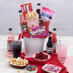 Valentine's Day Soda Bucket