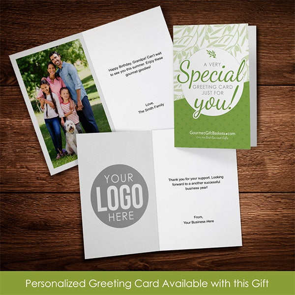 Personalized Greeting Card Available With This Product