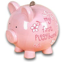 My First Piggy Bank Pink (6014)