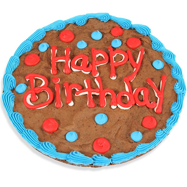 Happy Birthday Brownie Cake By GourmetGiftBaskets.com