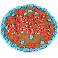 Happy Birthday Brownie Cake