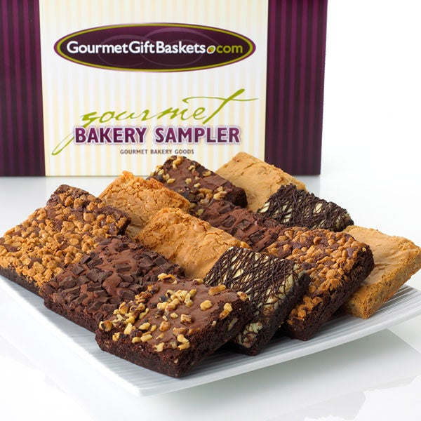 Brownies Sampler Bakery Gift