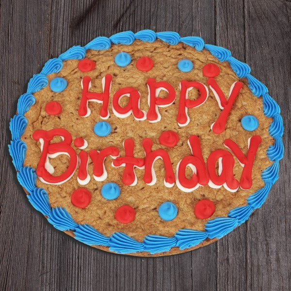 This Gourmet Experience Includes Happy Birthday Cookie Cake