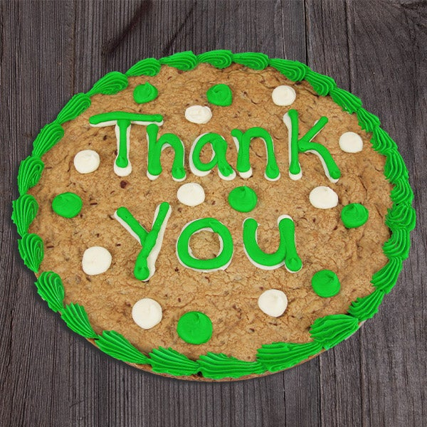 Thank You Cookie Cake By Gourmetgiftbaskets Com