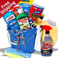 Car Wash Gift Baskets