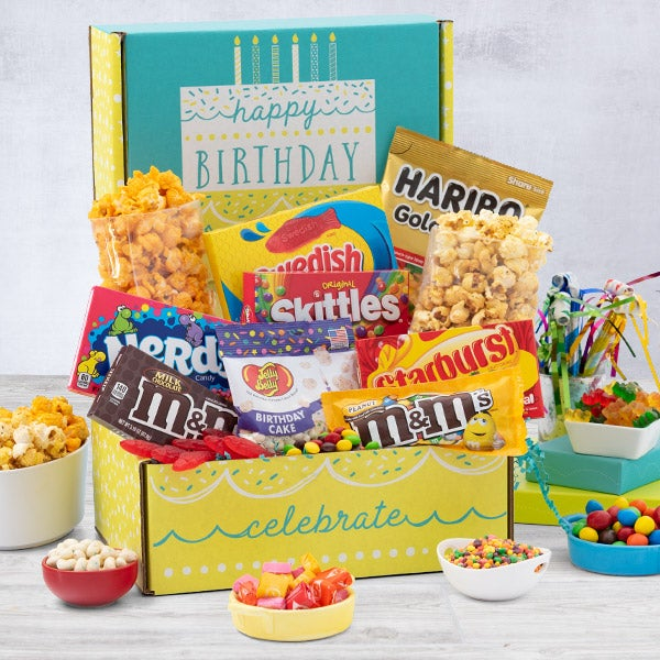 Birthday Gifts Gift Baskets For Her Him Or Mom Dad