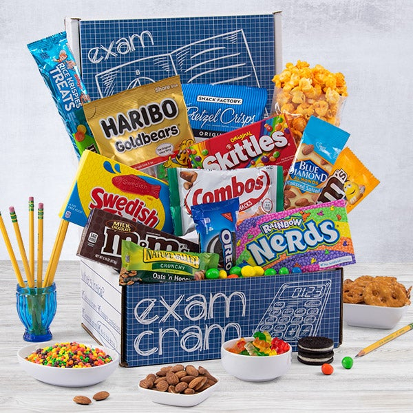 College Care Packages By Gourmetgiftbasketscom
