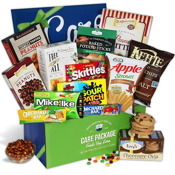 Gluten free gift baskets for all occasions holidays gluten free care package from gourmetgiftbaskets negle Gallery