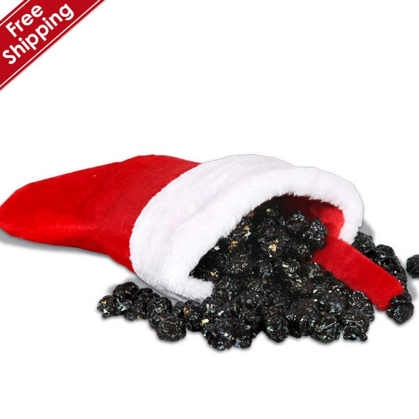 You've Been Naughty Coal Filled Stocking