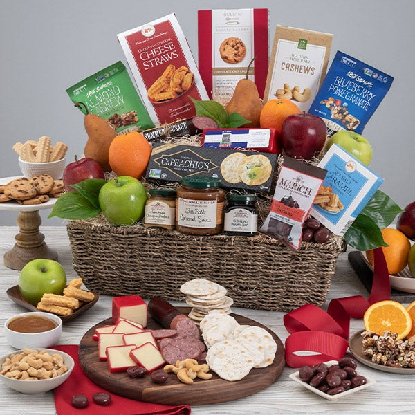 Healthy easter basket for adults by gourmetgiftbaskets healthy easter basket for adults negle