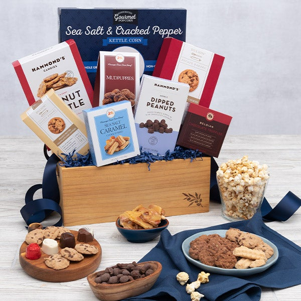 This Gourmet Experience Includes. Father's Day Basket