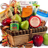 Scrumptiously Delicious™ - Fruit Gift Basket (4409)