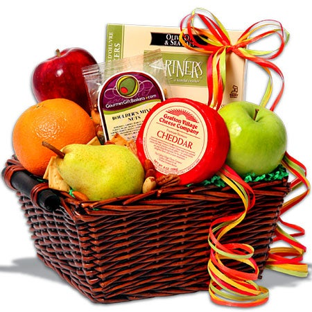 Season's Sampler - Fruit Gift Basket