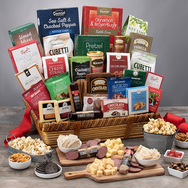 Mom is My World Snack Gift Basket