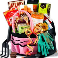 Pretty in Pink™ - Mother's Day Gardening Gift Basket - (RETIRED) (4682)