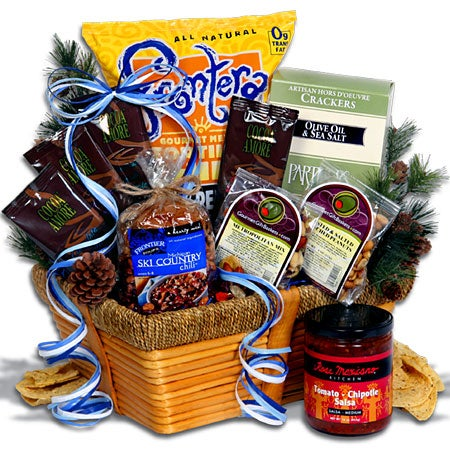SnoCountry.com's Skiers Delight Gift Basket - Classic