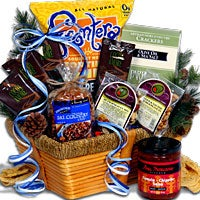 SnoCountry.com's Skiers Delight Gift Basket - Classic (4210B)