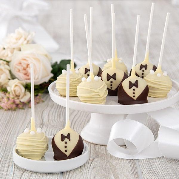 Wedding Cake Pops By Gourmetgiftbaskets Com