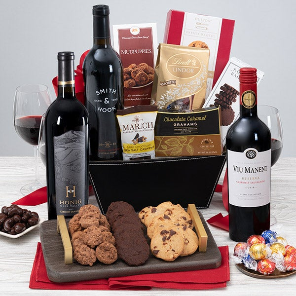 Wedding Gift Basket Wine : Wedding Wine Gift by GourmetGiftBaskets.com