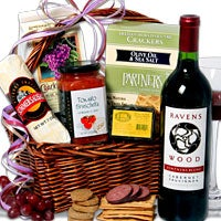 Ravenswood Red Wine Gift Basket™ (RETIRED) (5087)