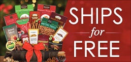 Free Shipping Christmas Gift Baskets