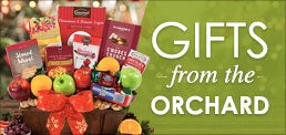 Christmas Gift Baskets from the Orchard