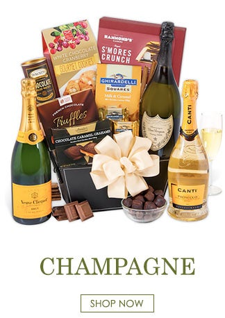 Champagne Shipping Gift Baskets
