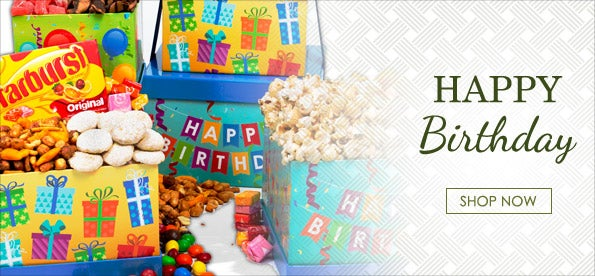 Birthday Gourmet Gift Baskets