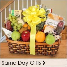 Same Day Gourmet Gift Baskets