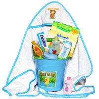 Baby Boy's Bath Time™ Gift Basket (6354)