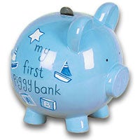 My First Piggy Bank Blue (6016)