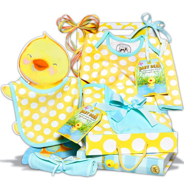 Baby's Clothing Essentials Gift In Yellow