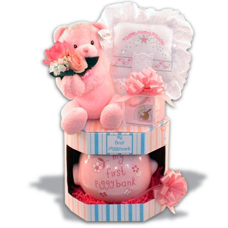 Baby Girl Gift - My First...Keepsakes