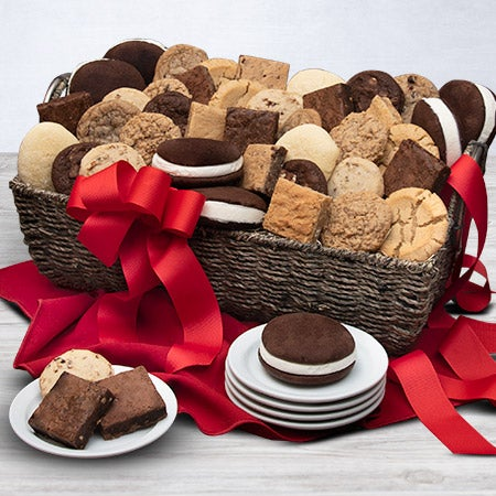 Baked goods deluxe gift basket by for Homemade baked goods for christmas gifts