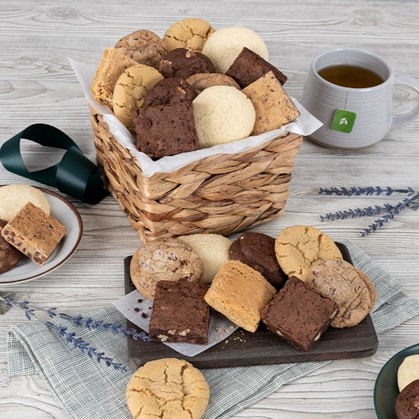 Mothers day gift baskets gift ideas 2018 gifts for mom baked goods sampler gift basket negle Choice Image