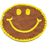 Smile Brownie Cake